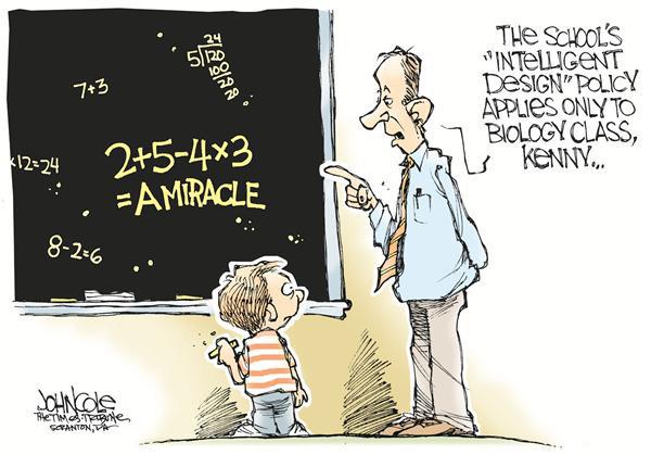 Teaching Intelligent Design In Schools